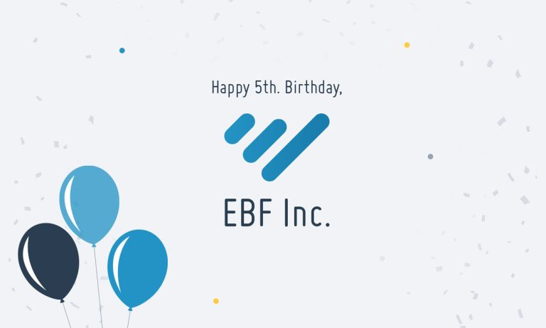 Happy Birthday EBF inc